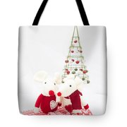 Christmas Mice Tote Bag