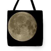 Christmas Moon 2012 Tote Bag
