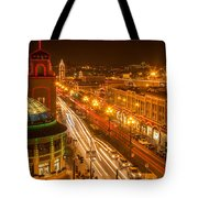 Christmas On The Plaza Tote Bag