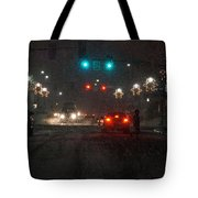 Christmas On The Streets Of Grants Pass Tote Bag
