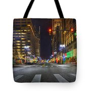 Christmas On Woodward Tote Bag