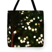 Christmas Palm Tote Bag