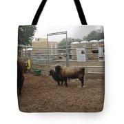Christmas Petting Farm Tote Bag