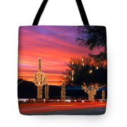 Christmas, Phoenix, Arizona, Usa Tote Bag