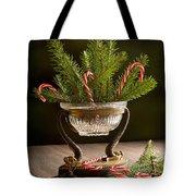 Christmas Pine Tote Bag
