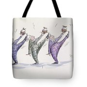 Christmas Pudding Tote Bag