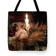 Christmas Shining Light Tote Bag
