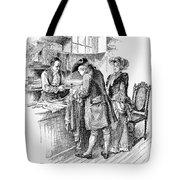 Christmas Shopping, C1750 Tote Bag