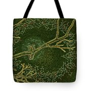 Christmas Songbird Tote Bag