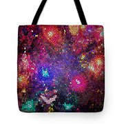 Christmas Stained Glass  Tote Bag