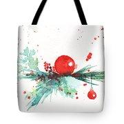 Christmas Theme 3 Tote Bag