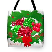 Christmas Three Tote Bag