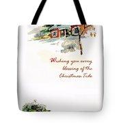 Christmas Tide Tote Bag