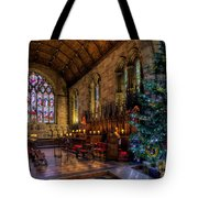 Christmas Time Tote Bag by Adrian Evans