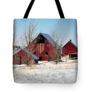 Christmas Time In Idaho Falls Tote Bag