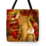 Christmas Toys Tote Bag