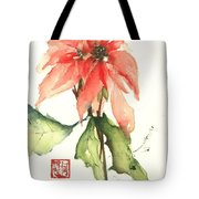 Christmas Tradition Tote Bag by Sherry Harradence