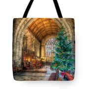 Christmas Tree Tote Bag by Adrian Evans
