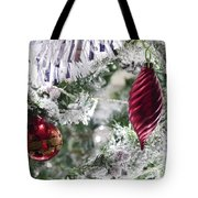 Christmas Tree Baubles Tote Bag