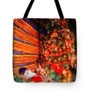 Christmas Tree Tote Bag by George Rossidis
