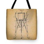 Christmas Tree Holder Patent 1927 Tote Bag