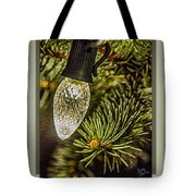 Christmas Tree Light Tote Bag