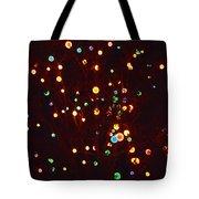 Christmas Tree Lights Tote Bag
