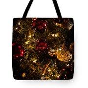 Christmas Tree Ornaments 3 Tote Bag