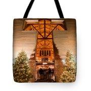 Christmas Village Decorations Tote Bag
