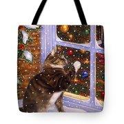 Christmas Visitor Tote Bag