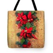 Christmas Wall Hanging Tote Bag