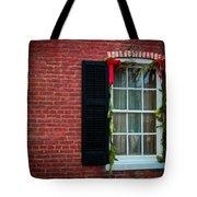 Christmas Window #1 Tote Bag