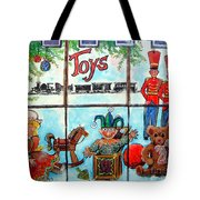 Christmas Window Tote Bag