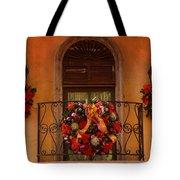 Christmas Window Tote Bag