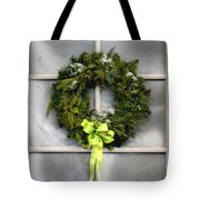 Christmas Windowpane Tote Bag