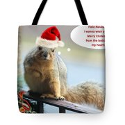 Christmas Wish Tote Bag