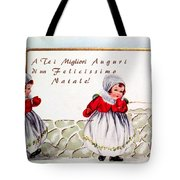 Christmas Wishes In Italian Tote Bag