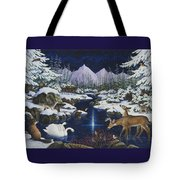 Christmas Wonder Tote Bag