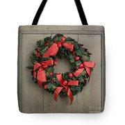 Christmas Wreath Tote Bag