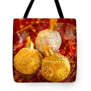 Christmasball Cupcakes In Red Tote Bag
