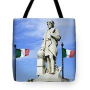 Christopher Columbus Baltimore  Statue Tote Bag