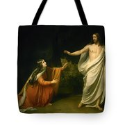 Christs Appearance To Mary Magdalene After The Resurrection Tote Bag