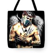 Christy Angel Mask Tote Bag