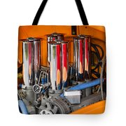 Chrome Colored Stacks Tote Bag