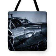 Chrome Twin-engined Beauty Tote Bag