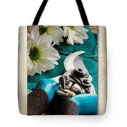 Chrysanthemum Cuttings Tote Bag by John Edwards