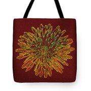 Chrysanthemum Fire Tote Bag
