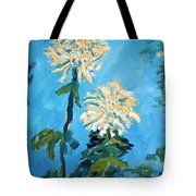 Chrysanthemum Floral Tote Bag