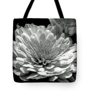 Chrysanthemum In Light And Shadow Tote Bag