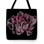 Chrysanthemum Scribble Tote Bag